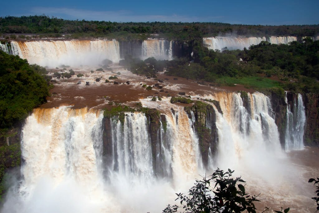 Iguazu Falls Brazil - Waterfall trail