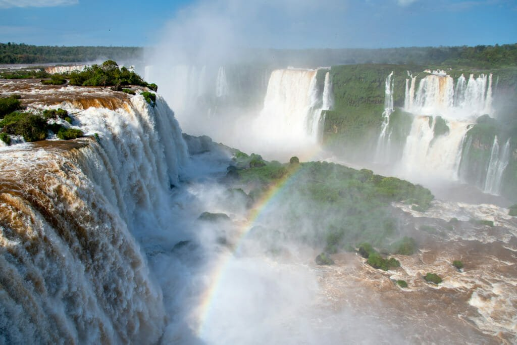 Iguazu falls Brazil - Devil's throat