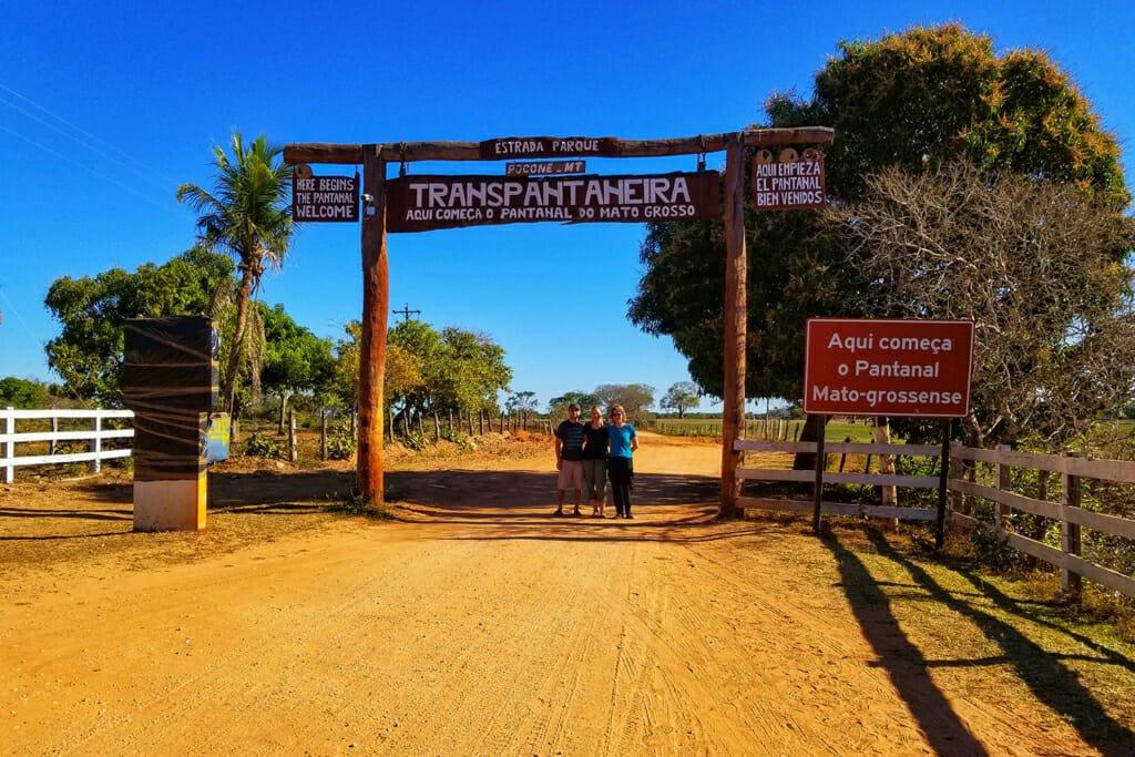 Transpantaneira Highway Pantanal