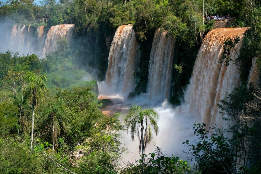 Upper Circuit Iguazu Falls Argentine side