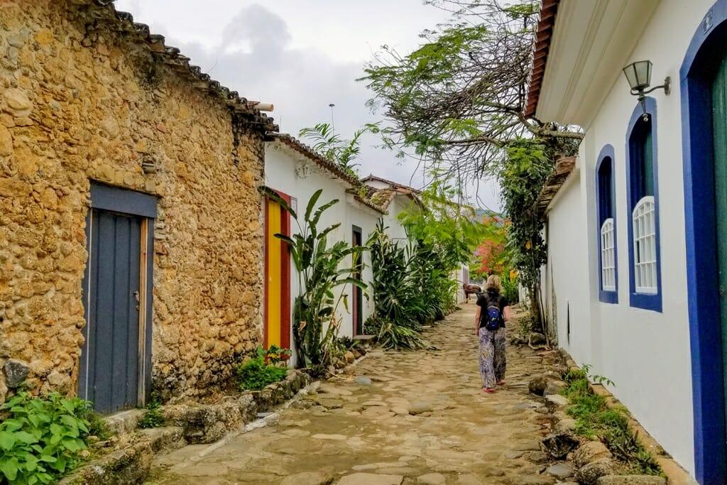 Paraty historic center, Brazil