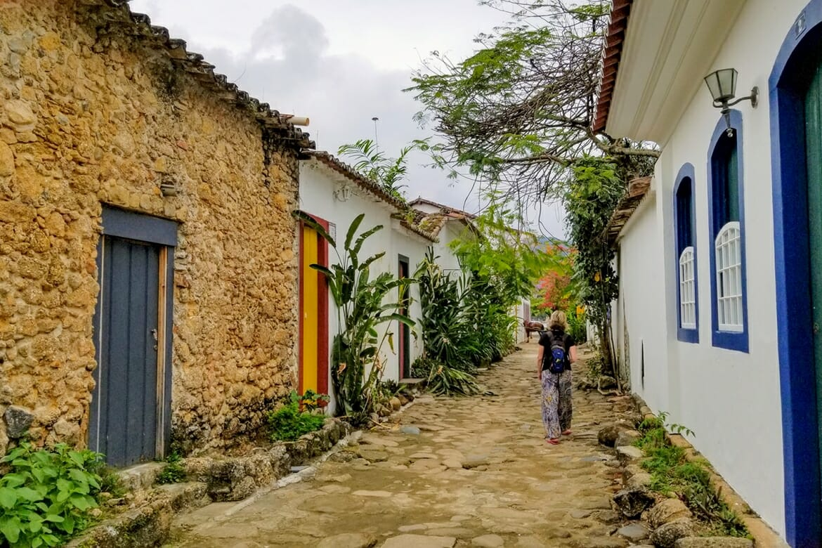 Paraty historic center, Brazil