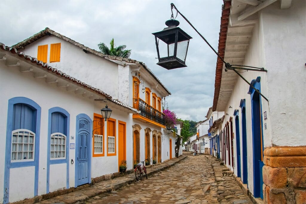 Historic town centre Paraty
