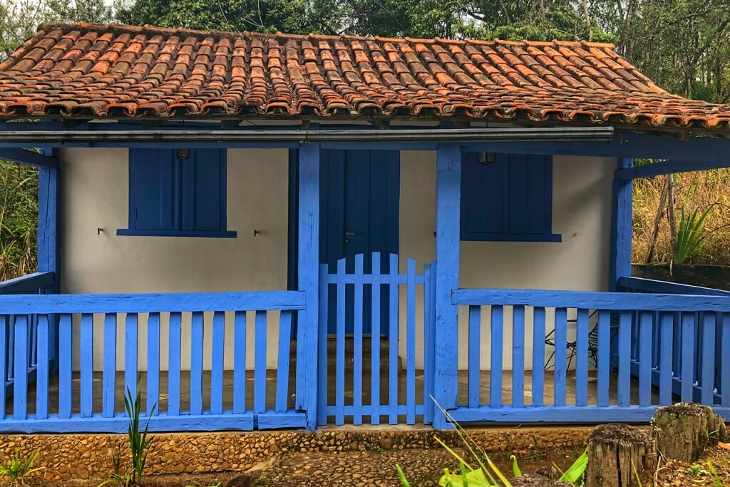 The cottage at Santuario do caraca