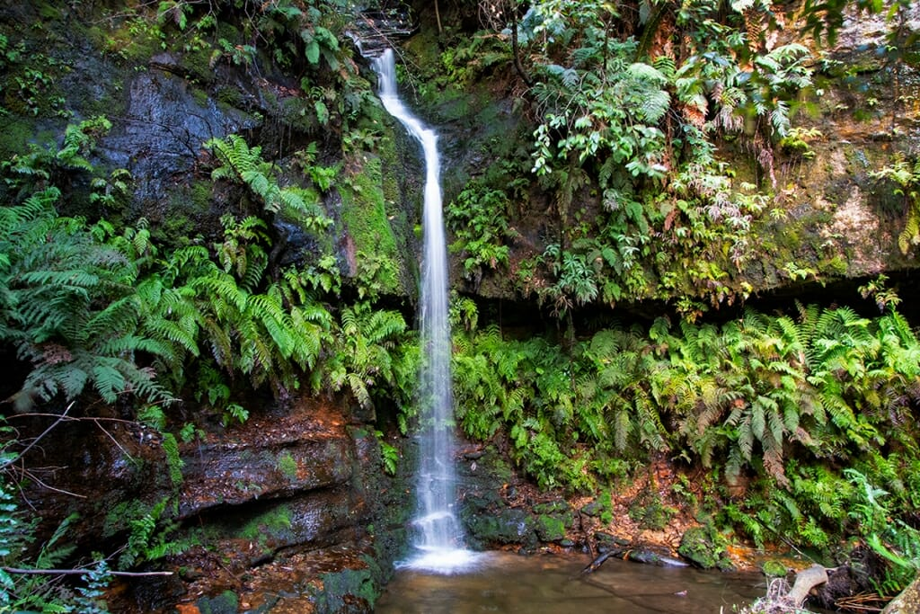 Lila falls dardanelles pass blue mountains
