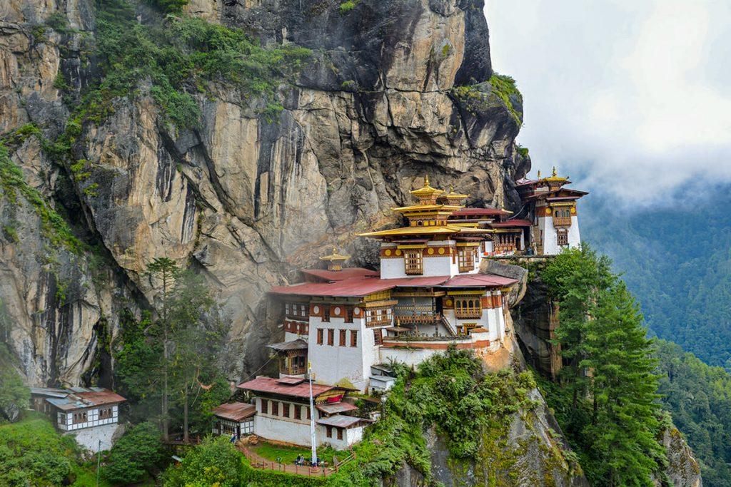Butan's famous Tiger Nest