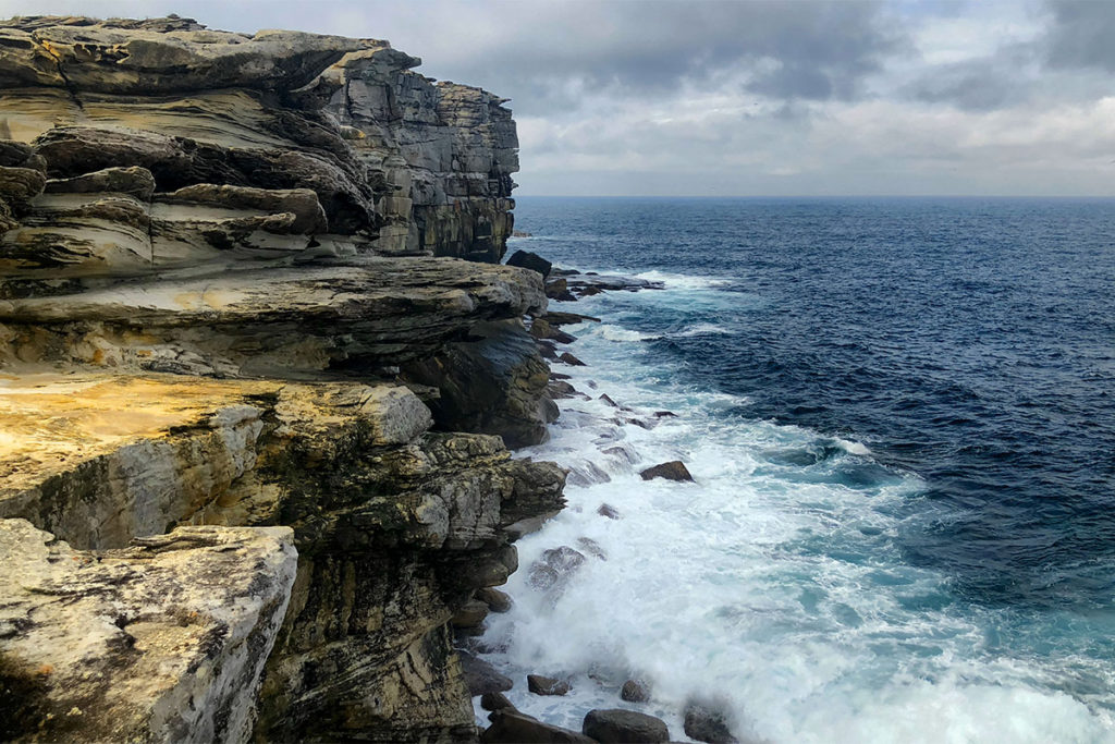 Cliffs of Royal National Park coastline
