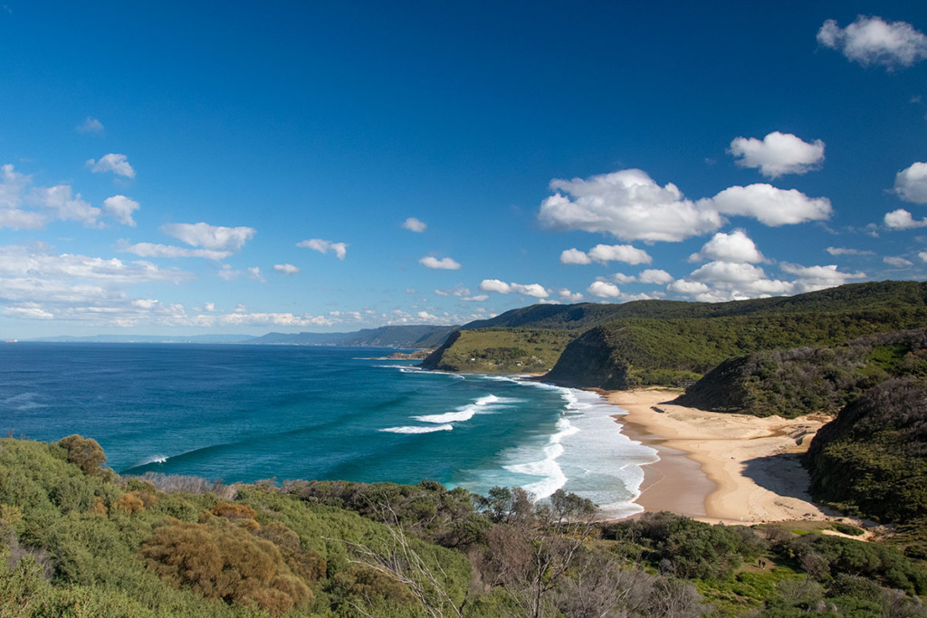 Garie beach in Royal National Park