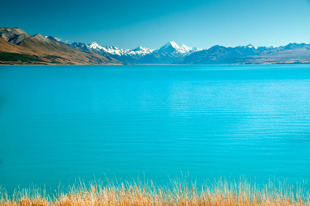 Lake Pukaki - New Zealand South Island Road Trip