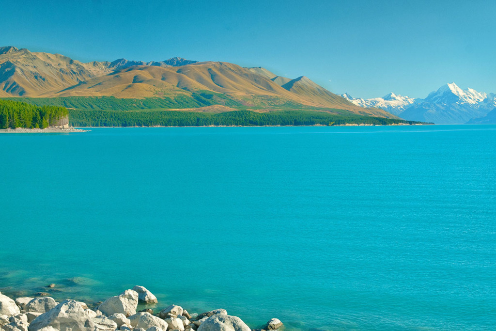 Lake Pukaki to Glenorchy road trip
