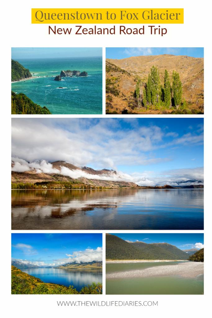 Queenstown to Fox Glacier - New Zealand Road Trip