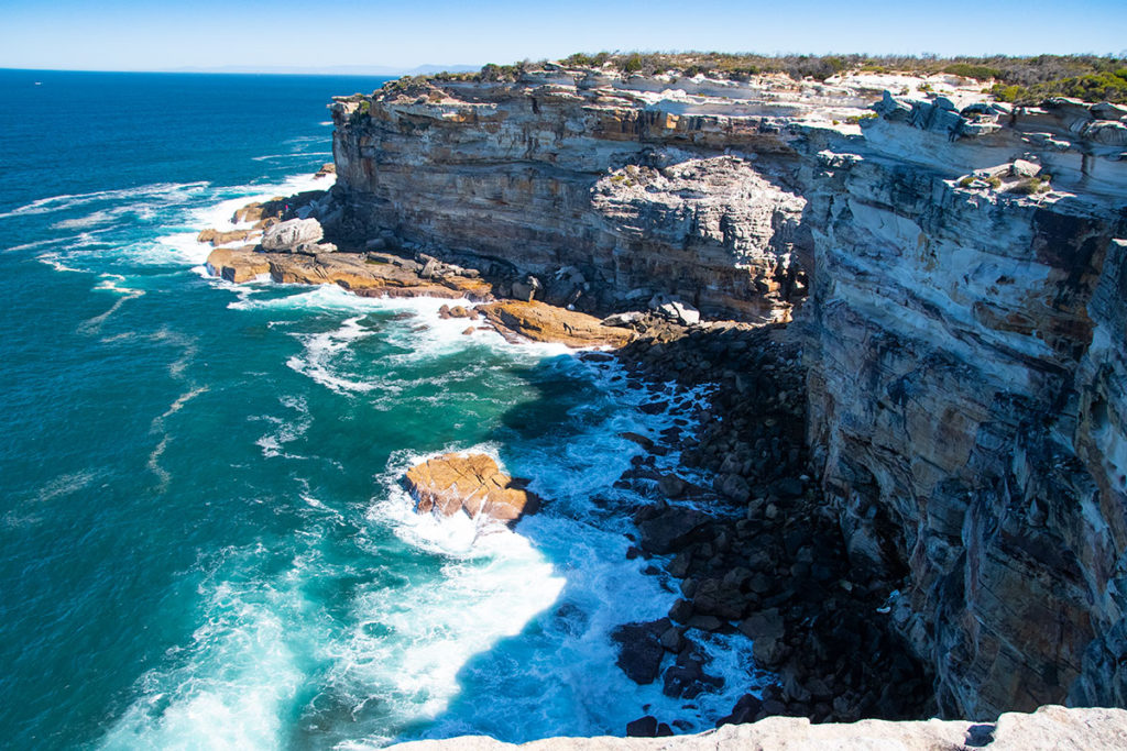 Cliffs at Royal National Park