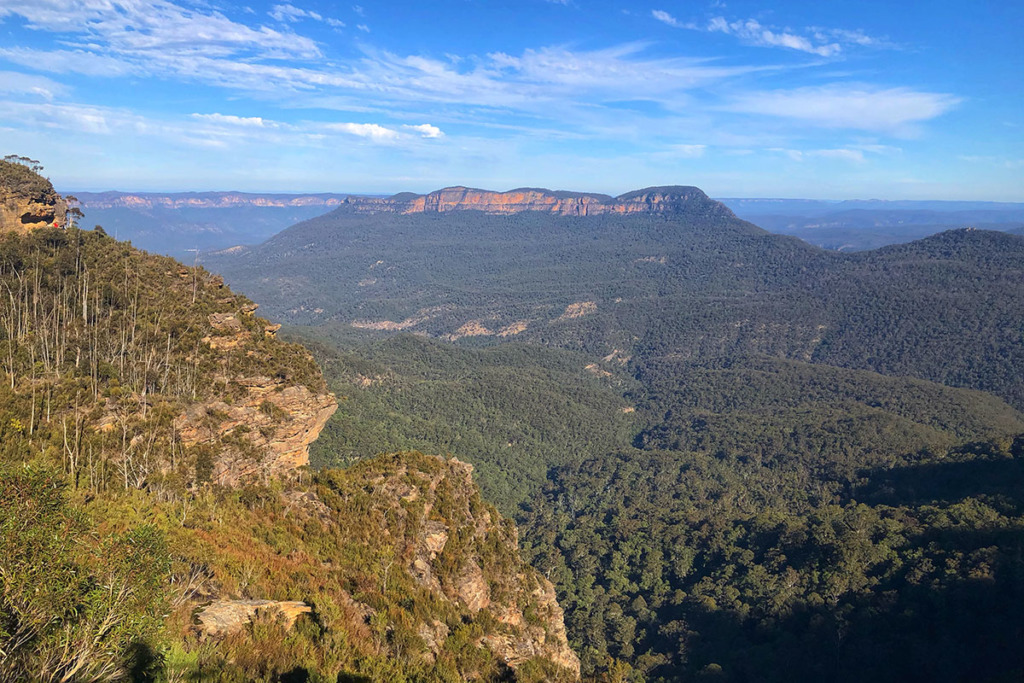Echo Point to Scenic World walk