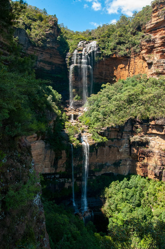 Wentworth Falls in Blue Mountains