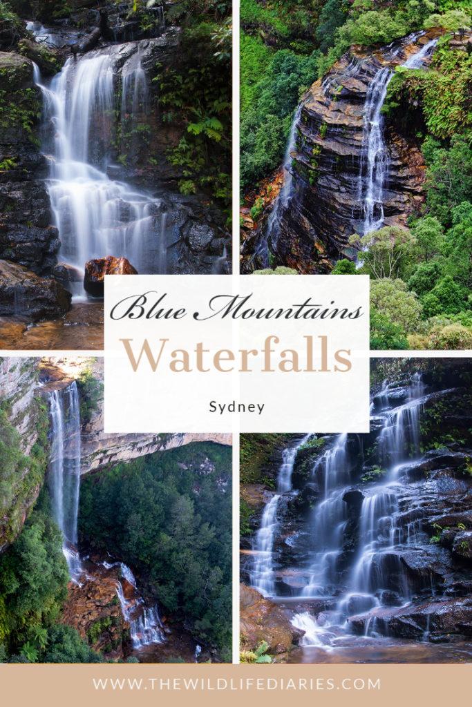Blue Mountains waterfalls