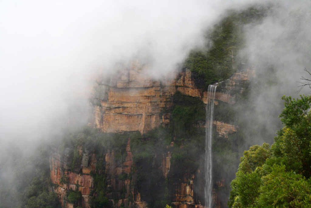 Govett's Leap Falls in the Blue Mountains