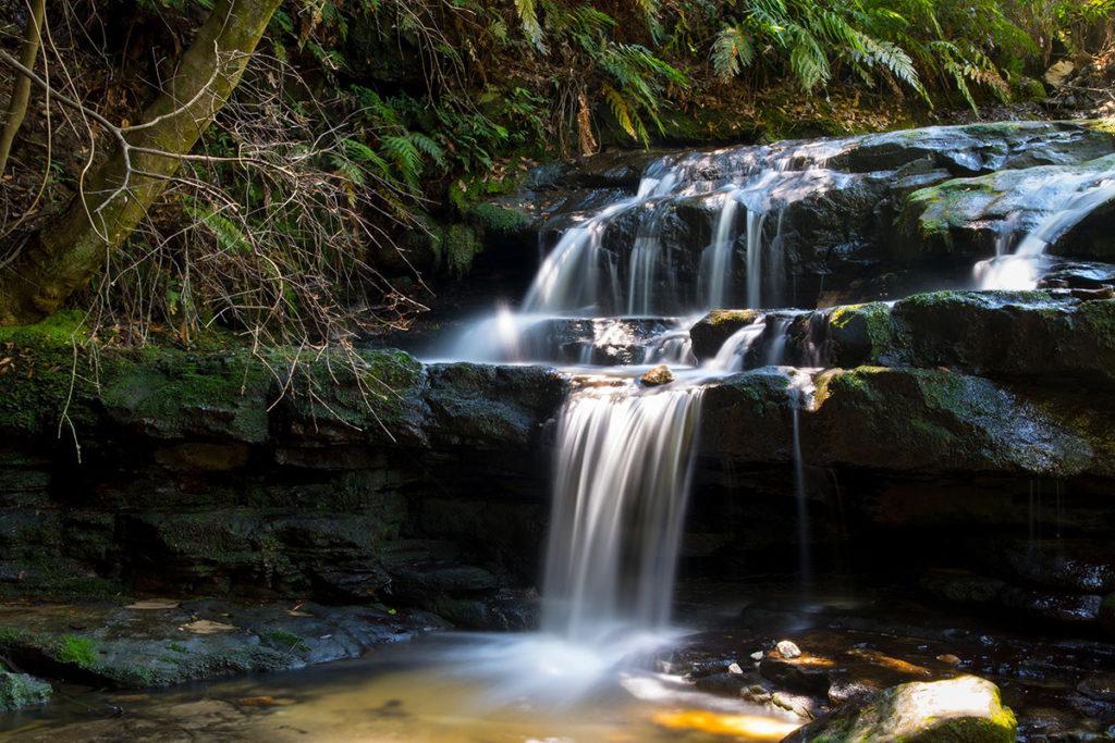 Leura cascades to Gordon Falls trail