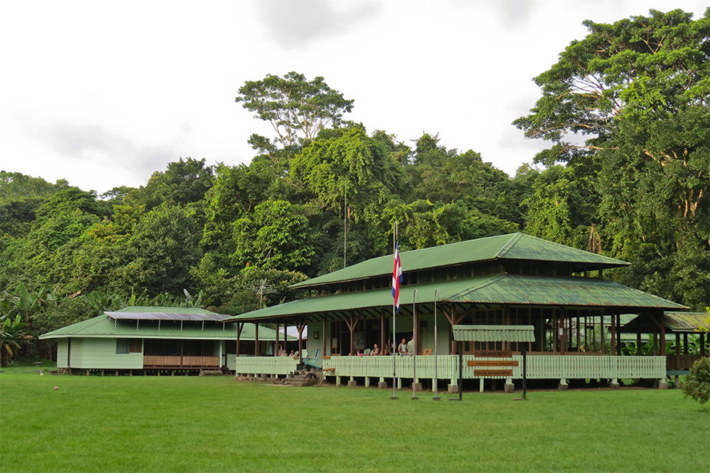 Sirena ranger station in corcovado national park, costa rica