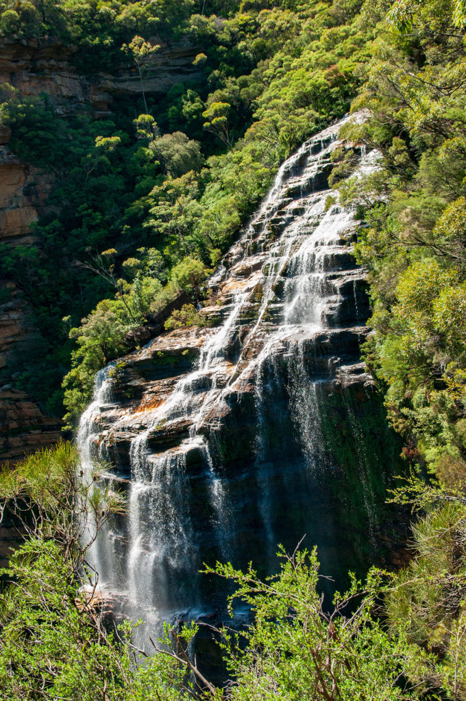 Wentworth Falls view from the steps