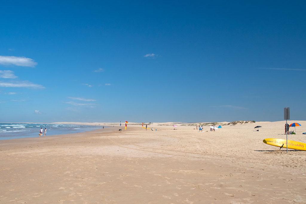 Birubi Beach in Port Stephens