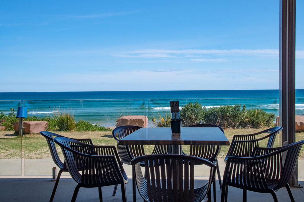 Crest Cafe at Birubi Beach