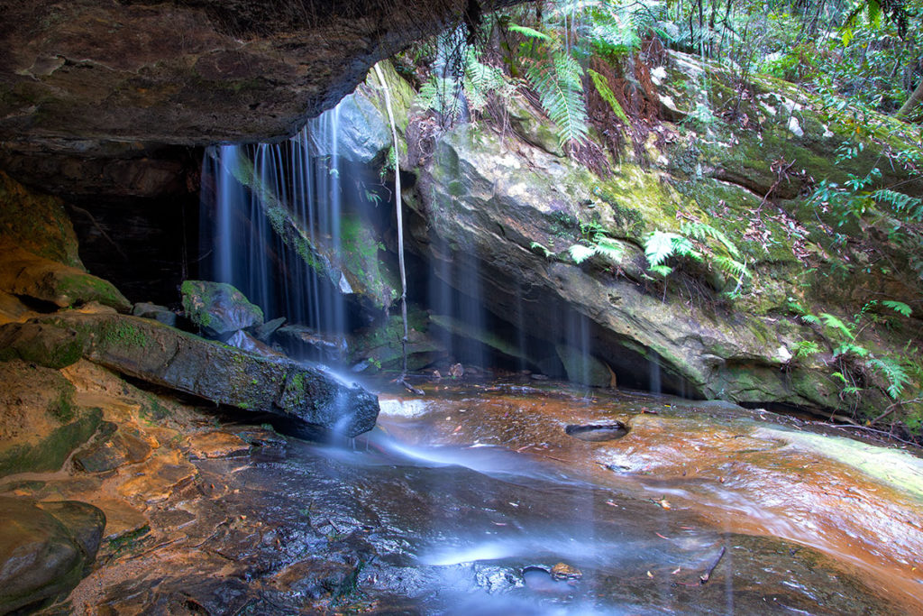 Fairy Falls on Horseshoe Falls walking track