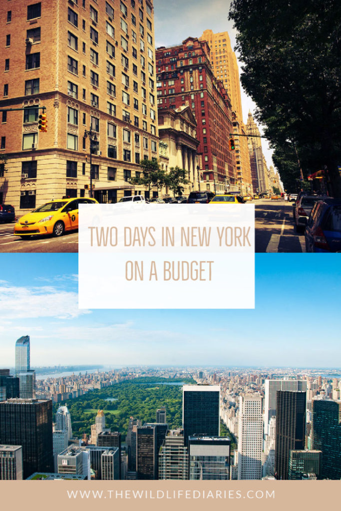 Two Days in New York on a budget