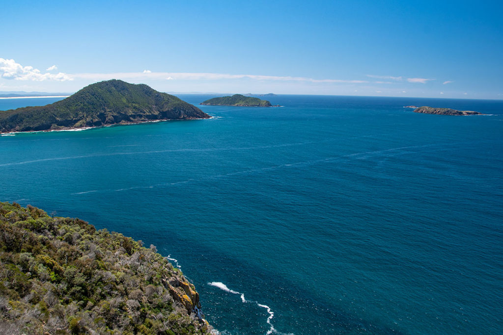 View from Tomaree Head Summit