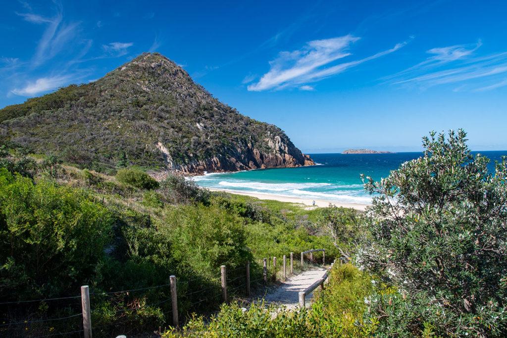 Zenith beach in Port Stephens