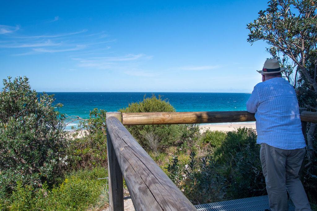 Zenith beach lookout Port Stephens