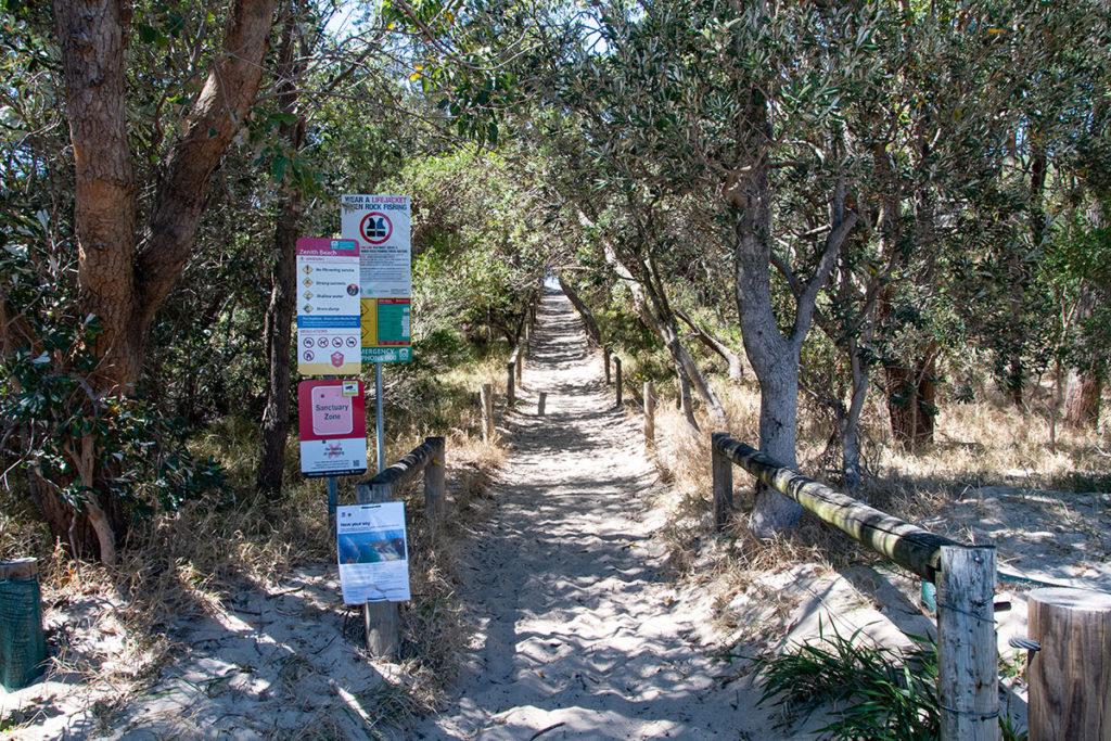 zenith beach trail