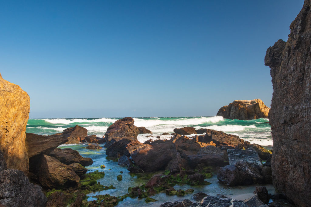 southern end of Narooma surf beach