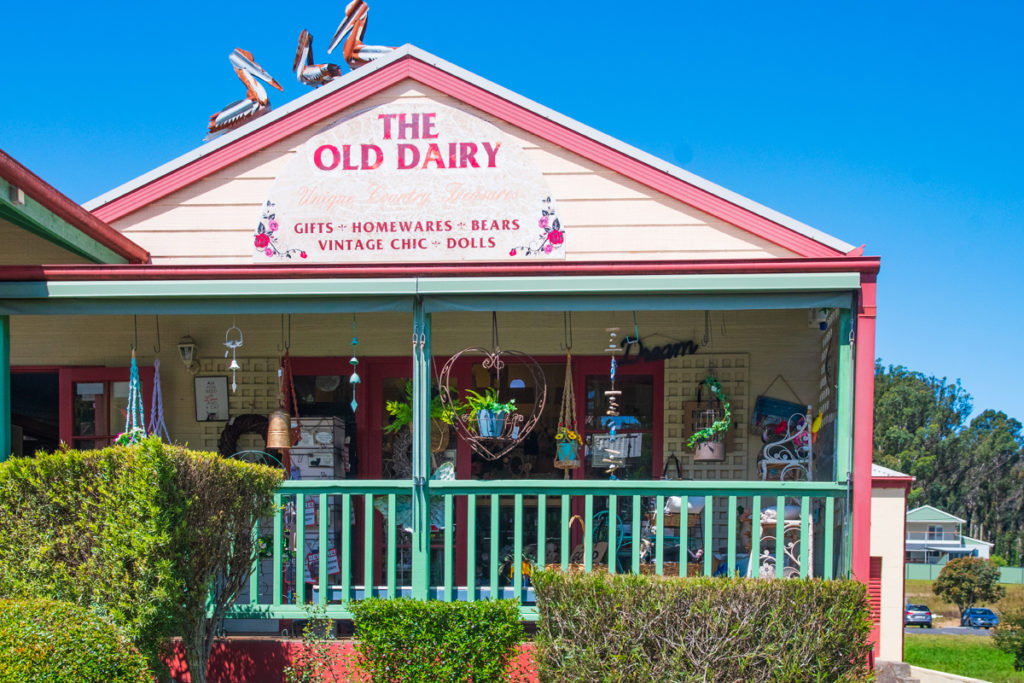 The Old dairy in Mogo