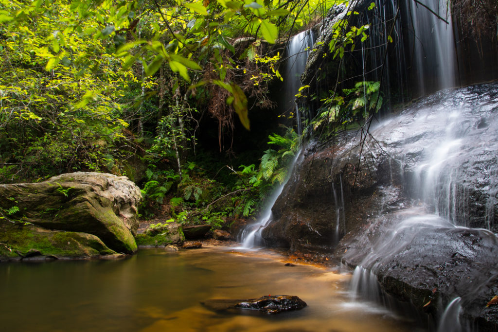 Cataract Falls in Blue Mountains