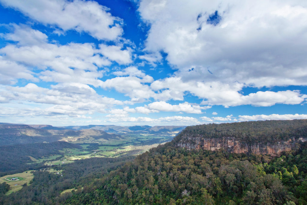 Manning Lookout in Morton National Park