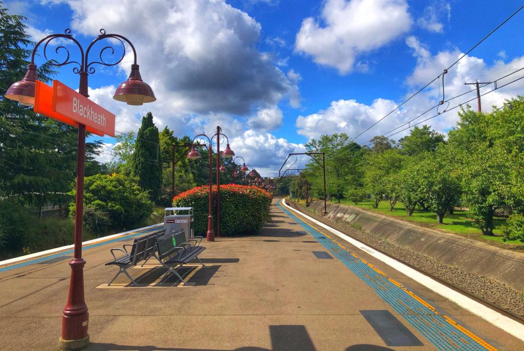 Blue mountains train staiton