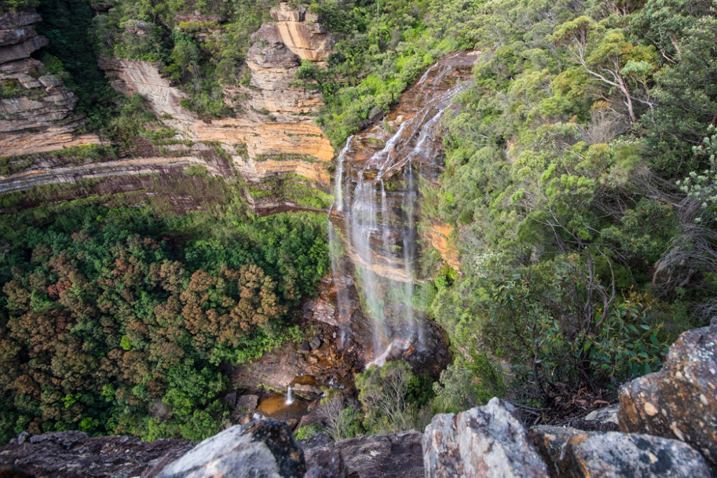 Rocket Point Lookout - Blue Mountains by train