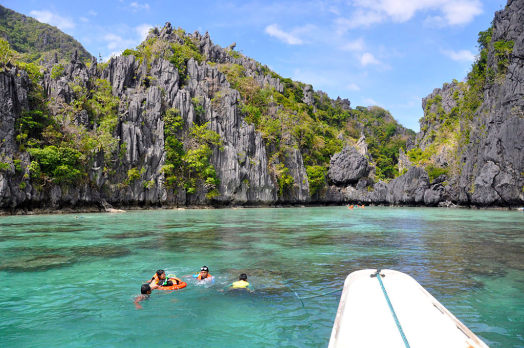Thnings to do in Palawan - free diving
