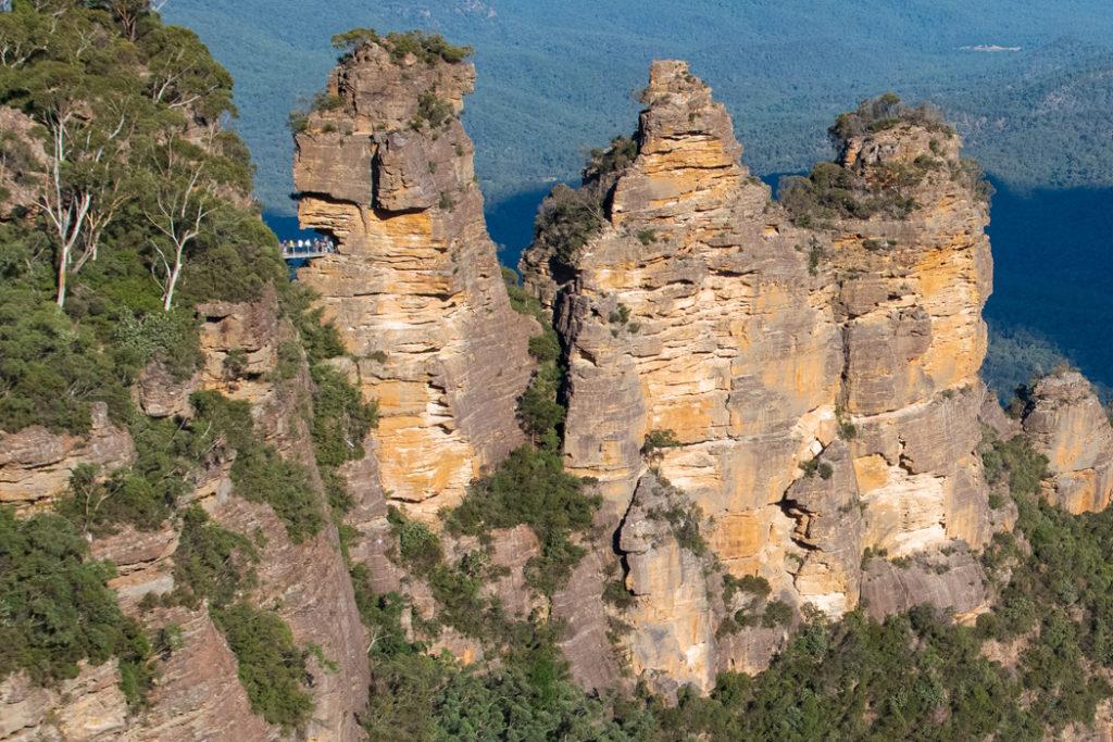 Honeymoon bridge - Blue Mountains lookouts