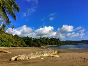 Deserted beach, Drake Bay
